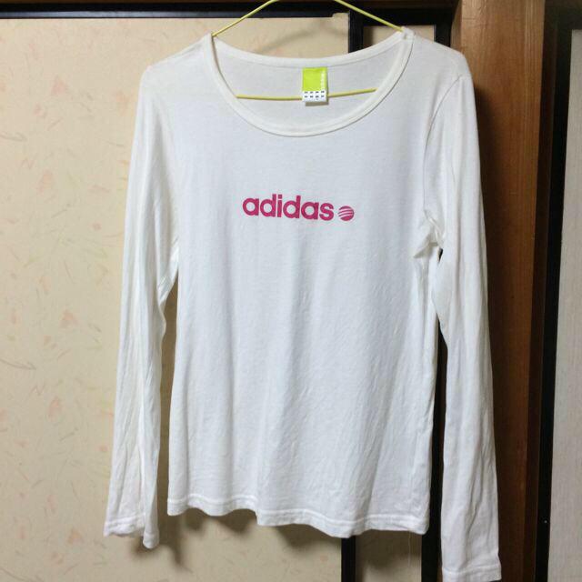 adidas(アディダス)のadidas☆ロンT レディースのトップス(Tシャツ(長袖/七分))の商品写真