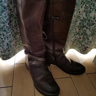 アルベルタフェレッティ(ALBERTA FERRETTI)のALBERTO FERMANI 本革 ロングブーツ(ブーツ)