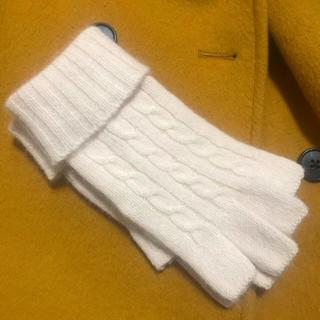 クロエ(Chloe)のChloe ニット手袋 ピンクベージュ(手袋)