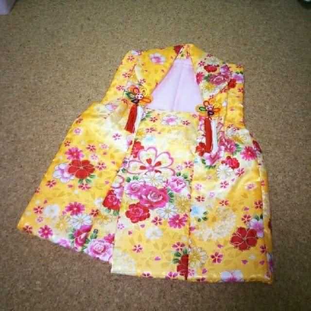 3歳 七五三 お着物  キッズ/ベビー/マタニティのキッズ服 女の子用(90cm~)(和服/着物)の商品写真