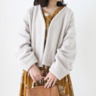 ルクールブラン(le.coeur blanc)のルクール ブラン ☆  ジャケットアウター☆(ノーカラージャケット)
