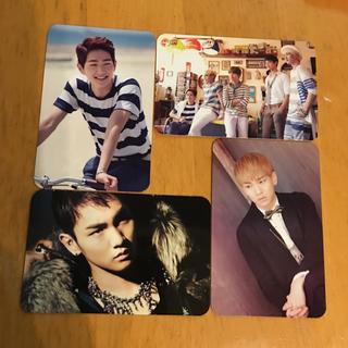 シャイニー(SHINee)のshinee  boys meet U トレカセット(K-POP/アジア)