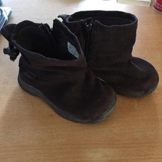 ナイキ(NIKE)のナイキ16㎝スエード調ブーツ(ブーツ)