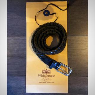 ホワイトハウスコックス(WHITEHOUSE COX)の伊勢丹購買正規品美品ホワイトコックスハウスWHITE HOUSE COX(ベルト)