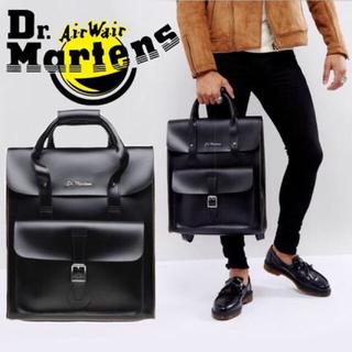 ドクターマーチン(Dr.Martens)のドクターマーチン Dr.Martens レザーバックパック ブラック(リュック/バックパック)