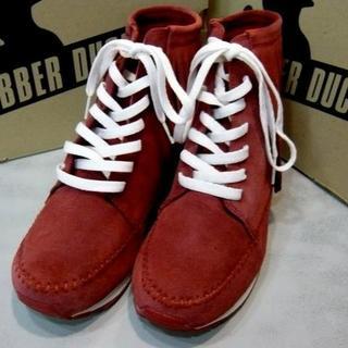 未使用RUBBER DUCK‐ラバーダックブーツRED(ブーツ)