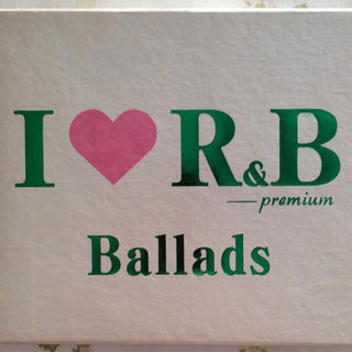 I ♡R&B  プレミアム BALLADS CD(R&B/ソウル)