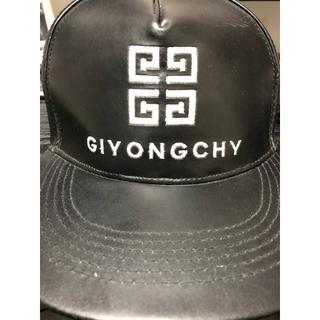 ビッグバン(BIGBANG)のBIGBANG G-DRAGON着用 帽子 キャップ ストレートキャップ(キャップ)