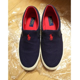ポロラルフローレン(POLO RALPH LAUREN)のポロラルフローレンの靴です。(スリッポン/モカシン)