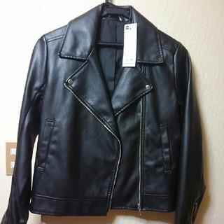 ジーユー(GU)のジャケット(ライダースジャケット)