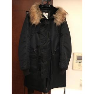 ハイク(HYKE)の18aw HYKE biotop 別注 N-3ジャケット サイズ3 メンズ(ミリタリージャケット)