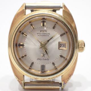 テクノス(TECHNOS)のA715 TECHNOS SKY Lady テクノス スカイ レディ 自動巻き(腕時計)