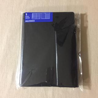 ムジルシリョウヒン(MUJI (無印良品))のデルフォニックス B6 手帳 2019 黒 新品(カレンダー/スケジュール)
