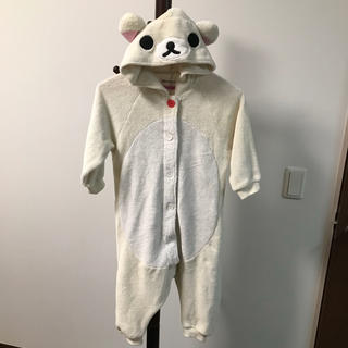 シマムラ(しまむら)のリラックマ 着ぐるみ パジャマ サイズ110(パジャマ)