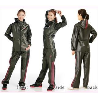 アディダス(adidas)のアディダス サウナスーツ レディース Lサイズ (エクササイズ用品)