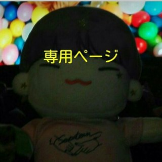 セブンティーン(SEVENTEEN)のhina様専用(ぬいぐるみ)