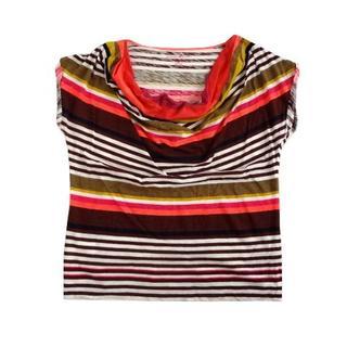 エディーバウアー(Eddie Bauer)のEddie Bauer エディーバウアー ドレープ マルチ ボーダー Tシャツ (Tシャツ(半袖/袖なし))