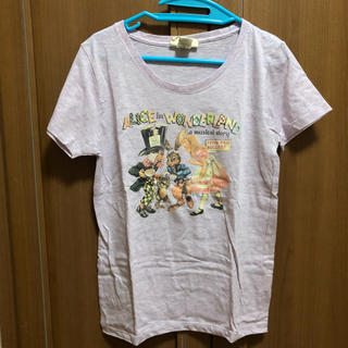 ダブルネーム(DOUBLE NAME)のアリス・イン・ワンダーランドTシャツ(Tシャツ(半袖/袖なし))