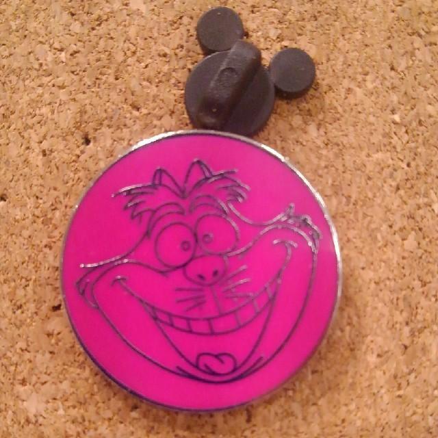 2016 Disney Cheshire Cat Smiling Face Pin Rare