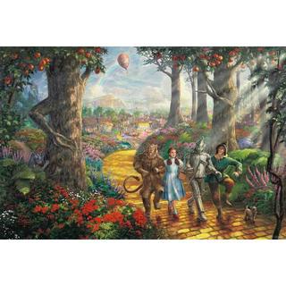 ディズニー(Disney)の【新品未使用】アートポスター オズの魔法使い 額付き 送料込み(アート/写真)