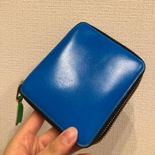 04c0c759f373 コム デ ギャルソン(COMME des GARCONS) 財布(ブルー・ネイビー/青色系 ...