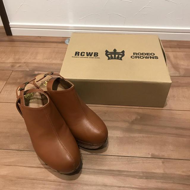RODEO CROWNS WIDE BOWL(ロデオクラウンズワイドボウル)のロデオ サボ サンダル レディースの靴/シューズ(サンダル)の商品写真