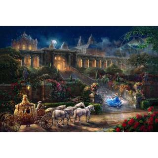ディズニー(Disney)の【新品未使用】アートポスター シンデレラ 額付き 送料込み(ポスター)