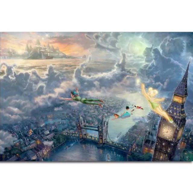 Disney(ディズニー)の【新品未使用】アートポスター ピーターパン 額付き 送料込み エンタメ/ホビーのアニメグッズ(ポスター)の商品写真