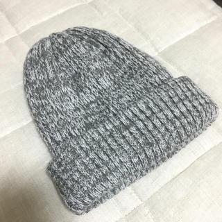 カクタスセポ(cactus..cepo.)のニット帽子 グレー(ニット帽/ビーニー)