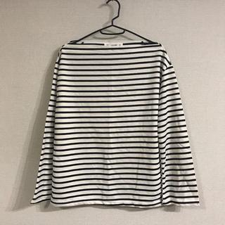 ロクロクガールズ(66girls)の66girls ボートネック ボーダーロンT(Tシャツ(長袖/七分))