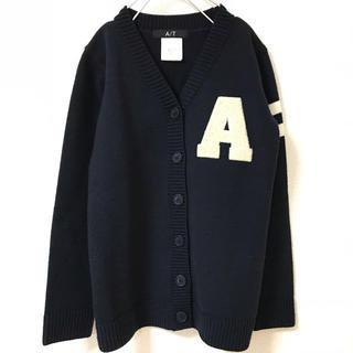 エーティー(A/T)の【A/T】エーティー ニット セーター カーディガン アルファベット(ニット/セーター)