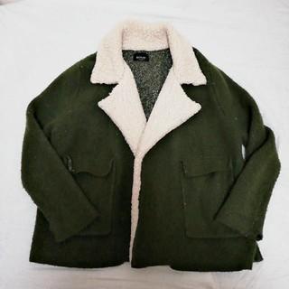 ザラ(ZARA)のZARA ニットコート ジャケット アウター 秋冬 大人っぽい(ニットコート)