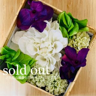 再販❤︎ toytoy233 ヘッドピース セット 白紫グリーン髪飾り 成人式(ヘアアクセサリー)