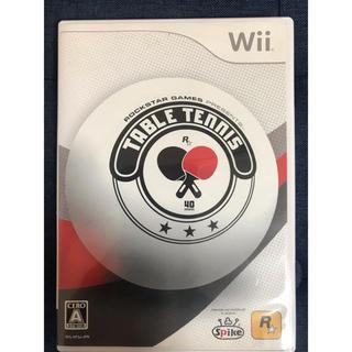 ウィー(Wii)のRockstar Games Presents Table Tennis(家庭用ゲームソフト)