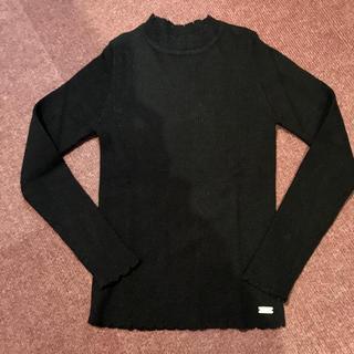 イングファースト(INGNI First)のイングファースト 黒のセーター 140(ニット)