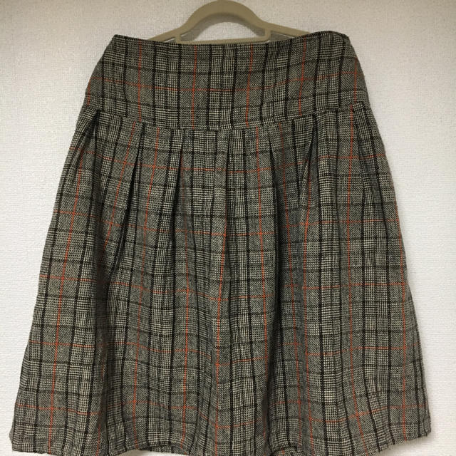 cynthia(シンシア)のcynthiaチェックスカート レディースのスカート(ひざ丈スカート)の商品写真