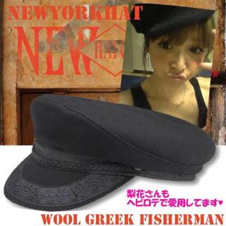 梨花さん愛用 New York hat キャスケット♡