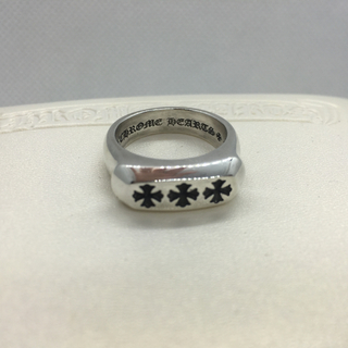 クロムハーツ(Chrome Hearts)のクロムハーツ lil pj 3ch plus リング ring レア クリスマス(リング(指輪))