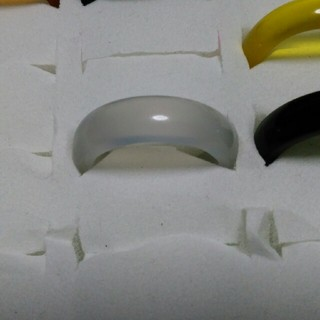 瑪瑙 指輪 16.5号 ①右上15天然石 メノウ(リング(指輪))