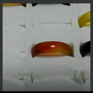 瑪瑙 指輪 14.5号 ①左下3天然石 メノウ(リング(指輪))