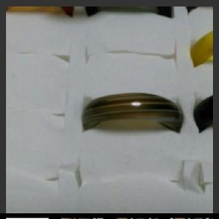 瑪瑙 指輪 14.5号 ①右上2天然石 メノウ(リング(指輪))