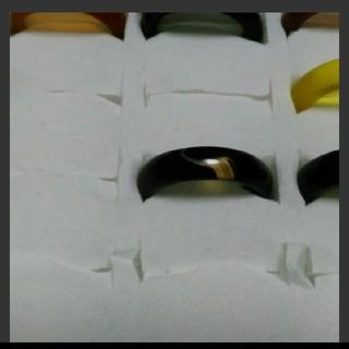 瑪瑙 指輪 14.5号 ①右上5天然石 メノウ(リング(指輪))