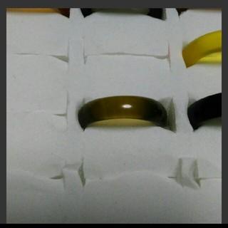 瑪瑙 指輪 14.5号 ①右下1天然石 メノウ(リング(指輪))