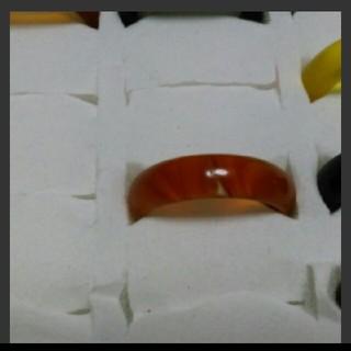 瑪瑙 指輪 14.5号 ②右下1天然石 メノウ(リング(指輪))