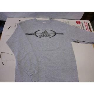 アディダス(adidas)のT016   アディダス ロンTシャツ デカロゴ レア物(Tシャツ/カットソー(七分/長袖))