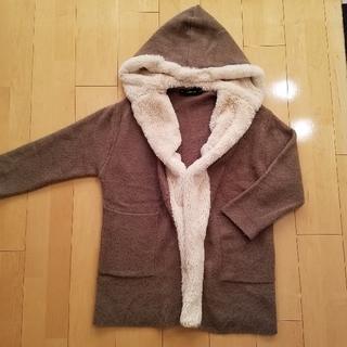 ザラ(ZARA)のzara knit sサイズ(ニットコート)