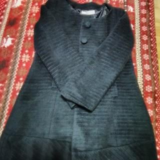パウダーシュガー(POWDER SUGAR)の中古 パウダーシュガー コート サイズM ブラック(ロングコート)
