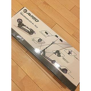 折りたたみ キッズスクーター  キックボード ブラック 120cm 新品 未使用(三輪車/乗り物)
