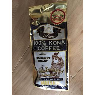 コナ(Kona)のコナコーヒー100% 豆 とハワイアンコーヒー(コーヒー)