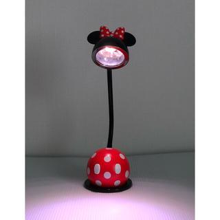 ディズニー(Disney)の( 限定・美品 )Disney  ミニーマウス  LEDデスク・テーブルランプ(テーブルスタンド)